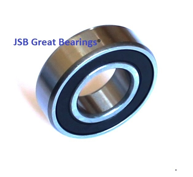 "R6-2RS rubber seals bearing R6-rs ball bearing 3/8"" x 7/8"" x 9/32"""