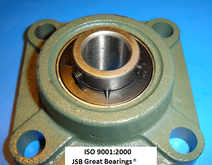 "1-3/8"" UCF207-22 Quality square flanged UCF207 Pillow block bearing ucf 207"