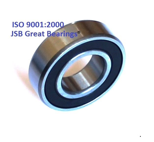 6201-8-2RS two side rubber seals bearing 6201-1/2-rs ball bearings 6201-8